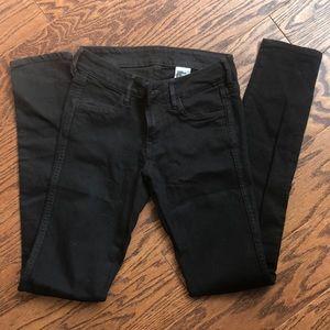 Black skinny jeans size 26/32